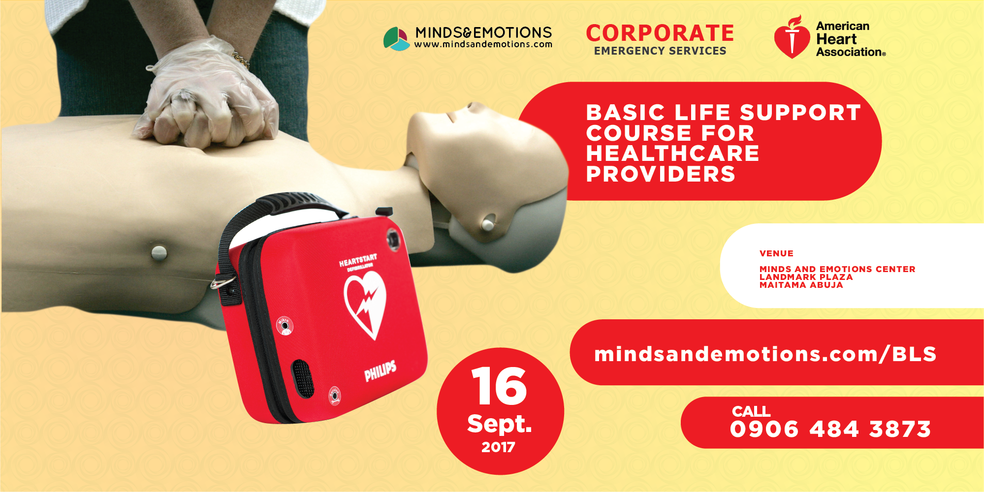 Basic Life Support Certification - Minds and Emotions
